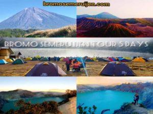 Bromo Semeru Ijen Tour 5 Days