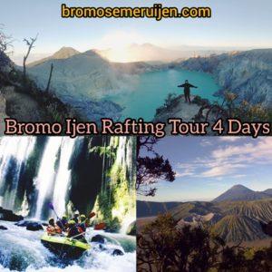 Bromo Ijen Rafting Tour
